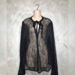 Sophisticated & Sexy lace cardigan